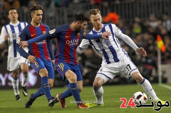 إلغاء مباراة برشلونة وفريق إسرائيلي بالقدس