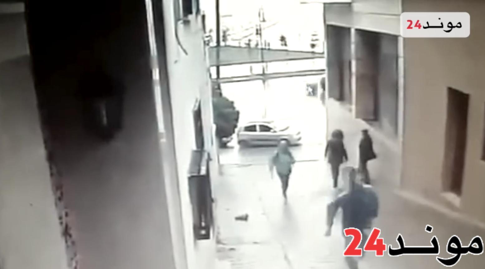 بالفيديو: سرقة هاتف سائحة المانية بطنجة