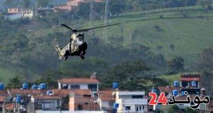 """""""محاولة انقلاب"""" في فنزويلا.. هليكوبتر تهاجم المحكمة العليا بالقنابل"""