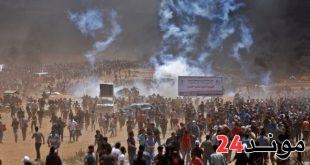 فلسطين: 40 شهيد و 1700 جريح في مظاهرات مسيرة العودة وكسر الحصار
