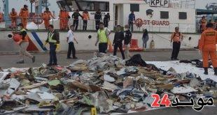 إندونيسيا: العثور على أجزاء من الطائرة المحطمة وتحديد موقعها