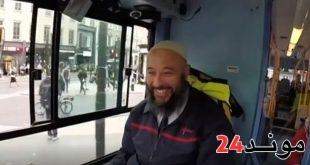 بالفيديو: تكريم سائق حافلة مغربي يوصف بكونه الاكثر لطفا بلندن