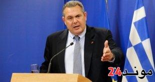 وزير الدفاع اليوناني يستقيل احتجاجا على اتفاق تغيير اسم مقدونيا
