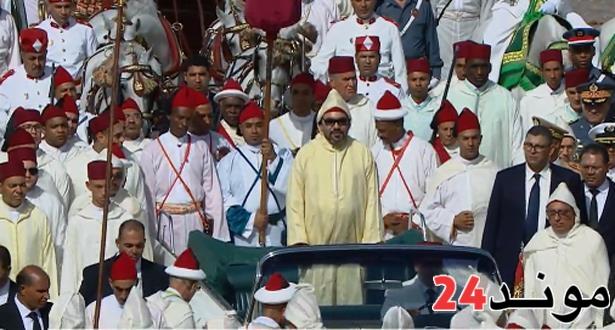 وزارة القصور الملكية والتشريفات والأوسمة: توضيح بخصوص الاحتفالات بالذكرى العشرين لعيد العرش -بلاغ-