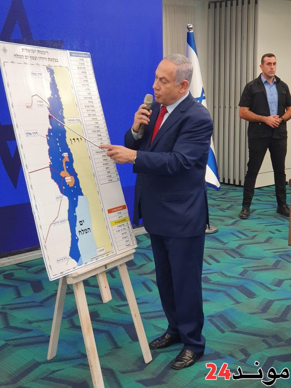 عاجل : نتنياهو يعلن نيته ضم غور الأردن إلى إسرائيل