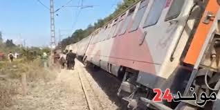 إصابات بعد خروج قطار عن سكته بمحطة بوسكورة