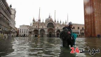 إيطاليا: البندقية تتعرض لثاني أسوأ موجة مد في تاريخها