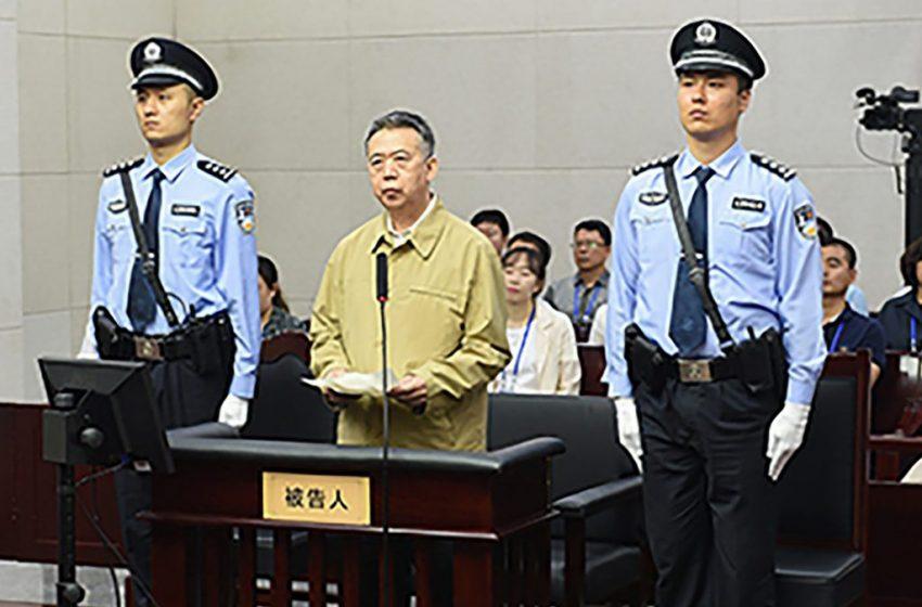 الصين: 13 سنة ونصف سجنا لرئيس الإنتربول الدولي السابق