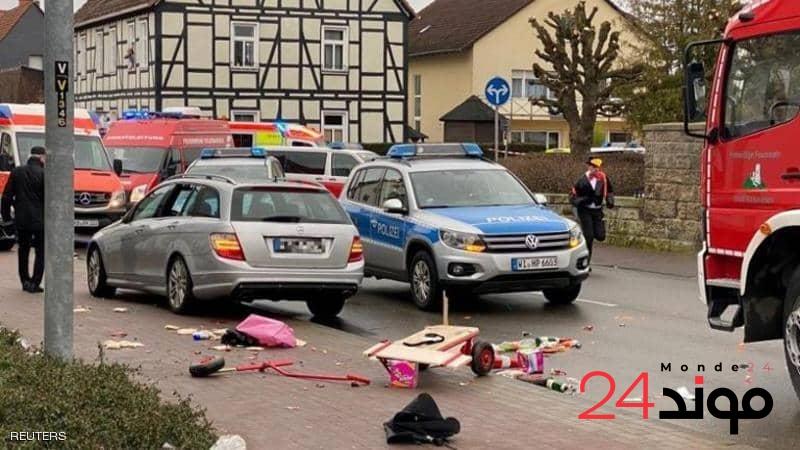 ألمانيا: اصابات جراء قيام سيارة بدهس مارة في مهرجان ببلدة فولكمارسن