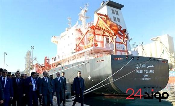 الجزائر:  تعزيز الأسطول التجاري بناقلتي غاز وناقلة نفط