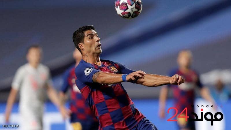 """مدرب """"البارسا"""" ينسف كل التوقعات بخصوص مهاجمه لويس سواريز بتصريح مفاجئ"""