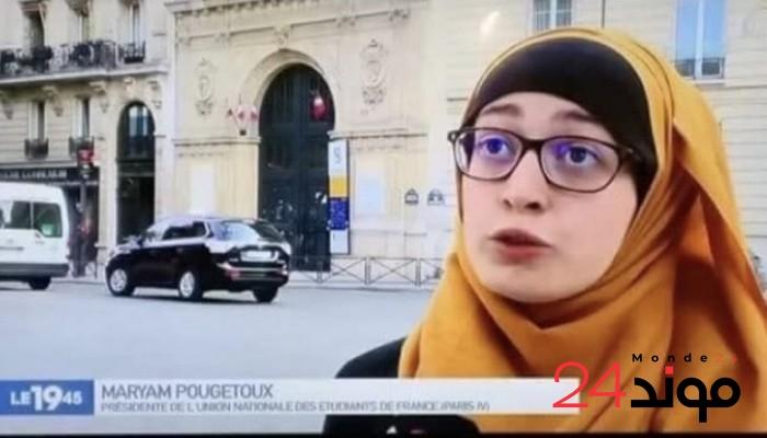 بسبب طالبة محجبة نواب فرنسيون يغادرون اجتماع البرلمان