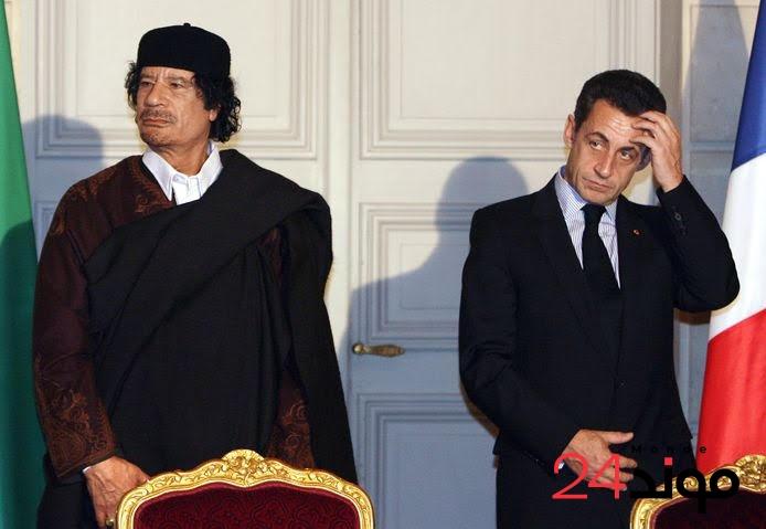 """فرنسا: بعد تمويل القذافي لحملته الانتخابية: اتهام نيكولاس ساركوزي بتهمة """"التآمر وتكوين عصابة إجرامية"""""""