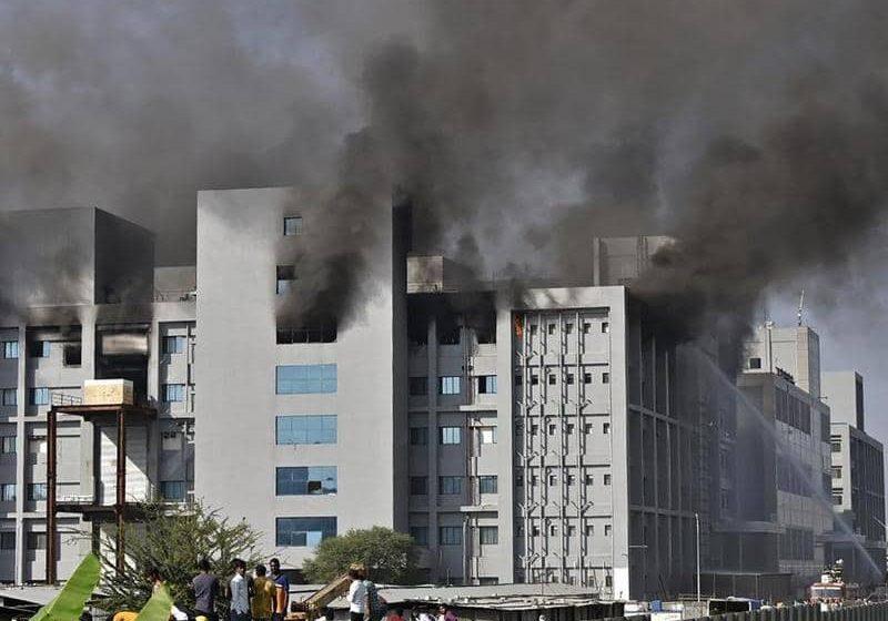 الهند: اشتعال النيران بأكبر معهد لإنتاج اللقاحات بالعالم-فيديو-
