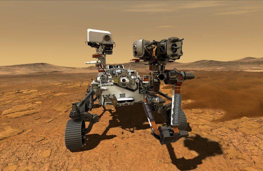 """ناسا: مسبار """"بيرسفيرانس"""" يهبط على سطح المريخ بنجاح"""