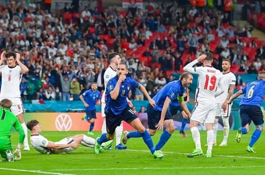 ايطاليا تتوج ببطولة اوروبا للمرة الثانية في تاريخها